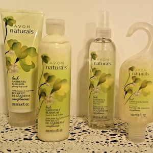GARDENIA BLOSSOM 4 PC. SET FROM AVON
